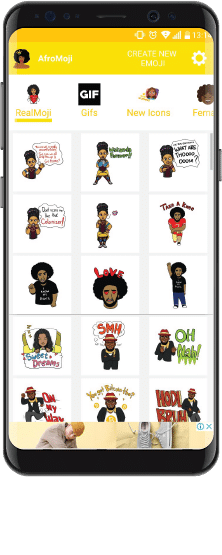 african emojis for android