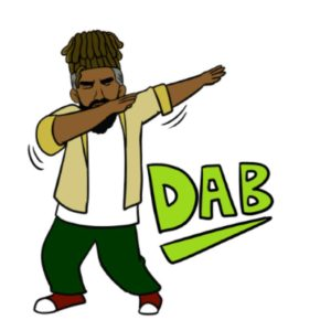 dab emoji for android