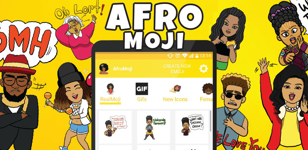 afromoji 100.000 downloads